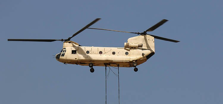 Air crane helicopter - Boeing CH-47 Chinook