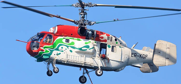 Sikorsky S61N - Commonly Used Helicopters
