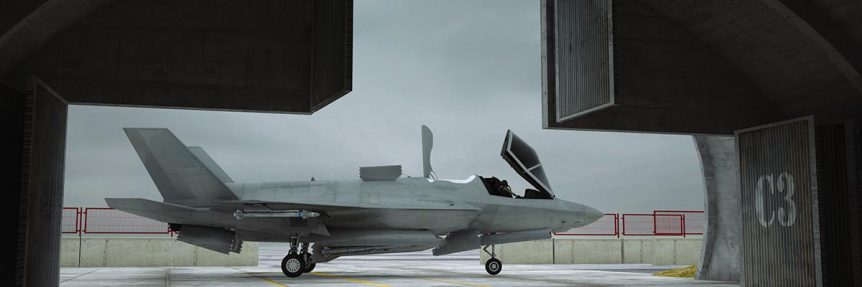 F35 Stealth Fighters
