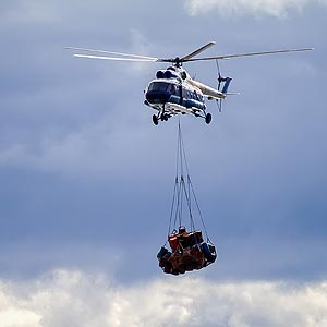 Oklahoma City Construction Helicopter Services - Oklahoma City Helicopter Lift Solutions