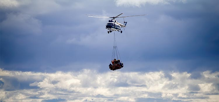 Detroit Construction Helicopter Services - Detroit Helicopter Lift Solutions