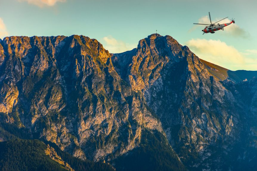 Rescue Services Helicopter