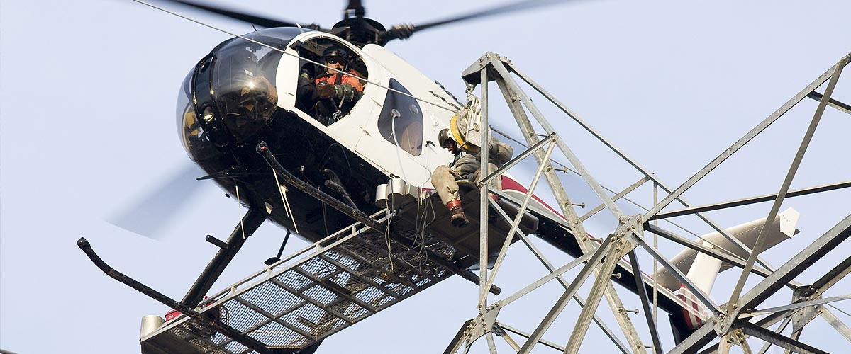 Construction Helicopter Charters