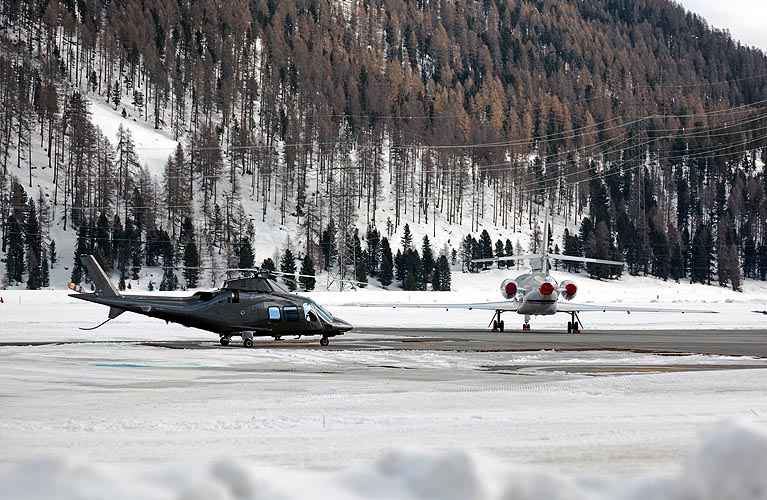 Helicopter Jet Transfers
