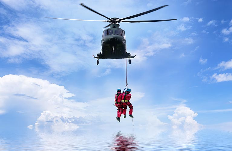 Search and Rescue Helicopter Services
