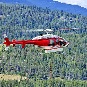 Montreal Emergency and Agricultural Services - Montreal Helicopter Lift Solutions