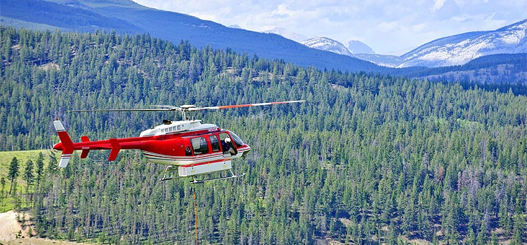Calgary Helicopter Lift Services