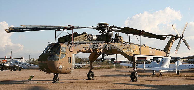 CH-54B TARHE - How much weight can a helicopter lift?