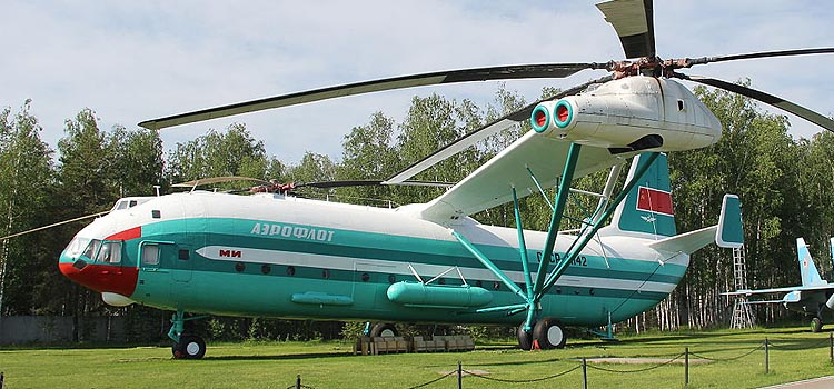 MIL V-12 - How much weight can a helicopter lift?