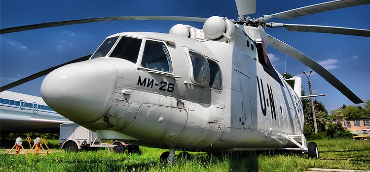 MIL MI-26 - How much weight can a helicopter lift?