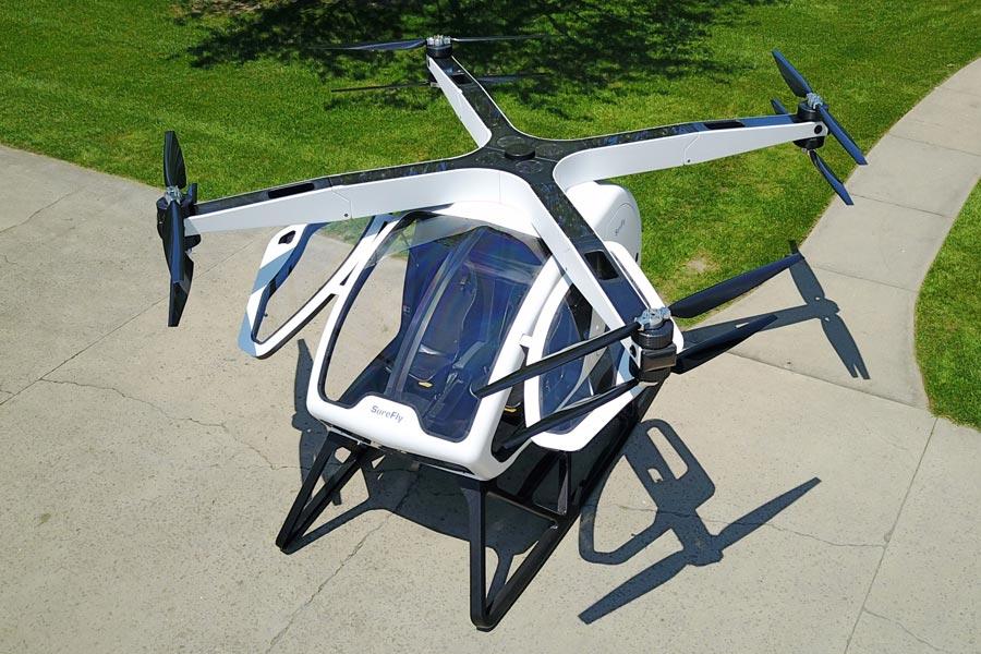 SureFly Hybrid Helicopter