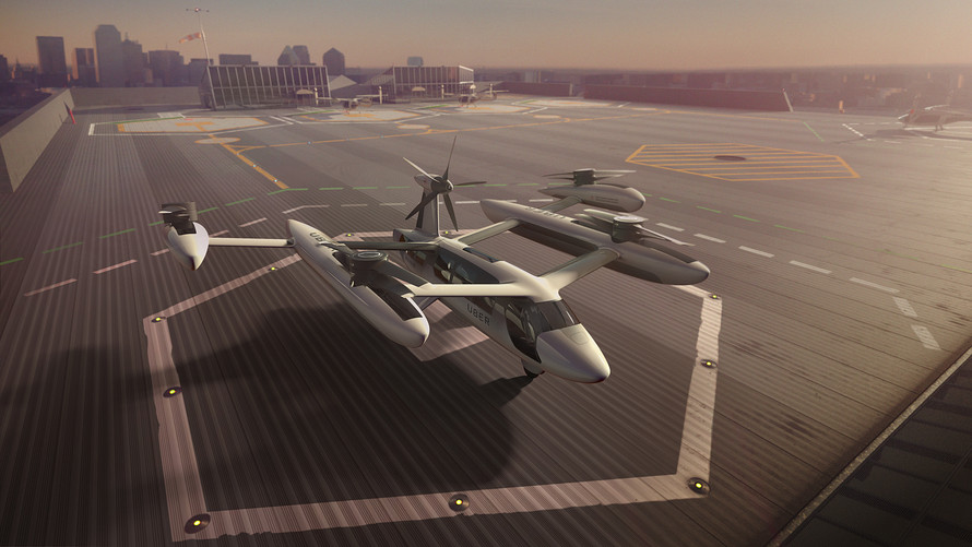 Uber Air Taxi Services