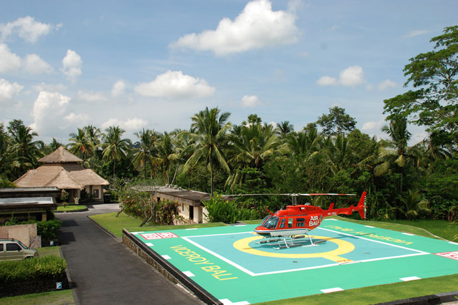 Hotels with Helipads: The Viceroy, Bali