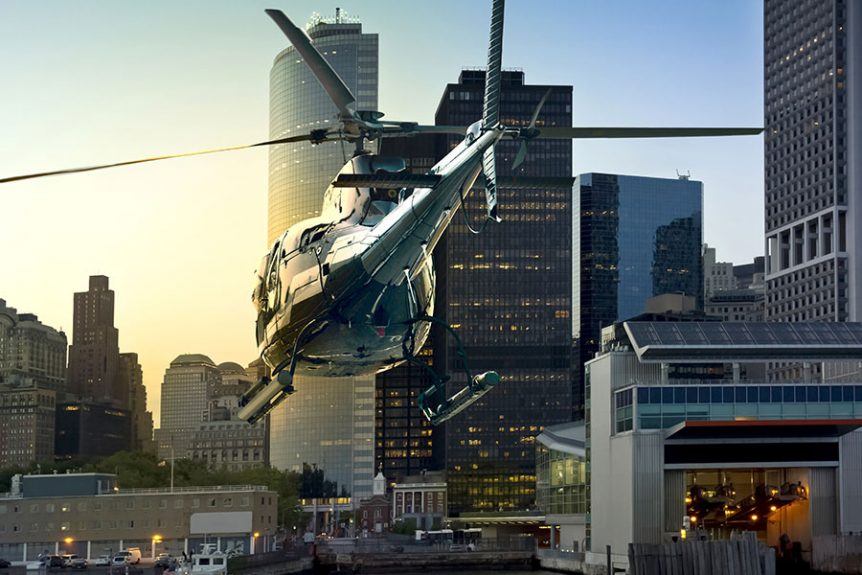 Helicopter Airport Transfers: Save Time Traveling to the Airport