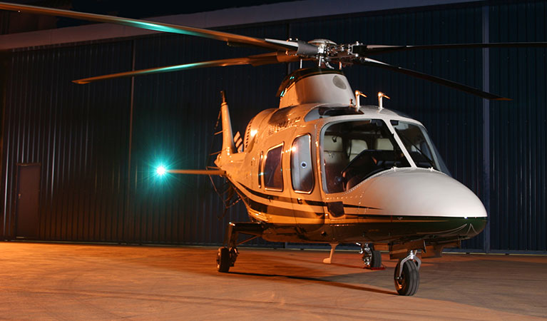 Helicopter Charters to the 2018 Ford EcoBoost 400