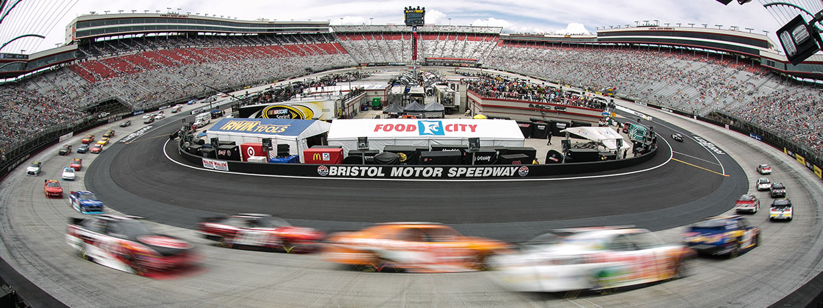 Helicopter Charter to Bristol Motor Speedway