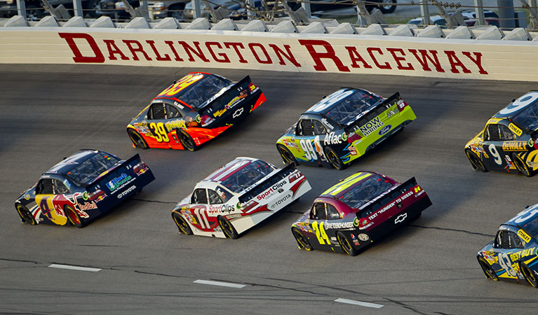Helicopter Charter to Darlington Raceway