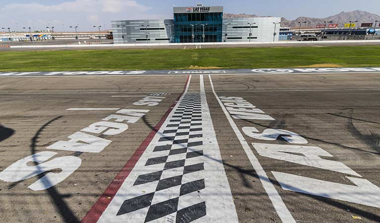 Helicopter Charter to Las Vegas Motor Speedway