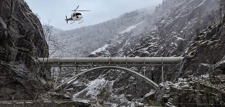 Pipeline Surveys in Alaska