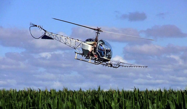 Lowell Helicopters for Agriculture - Lowell Helicopter Lift Solutions