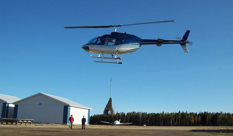 Cincinnati Construction Helicopter Services - Cincinnati Helicopter Lift Solutions
