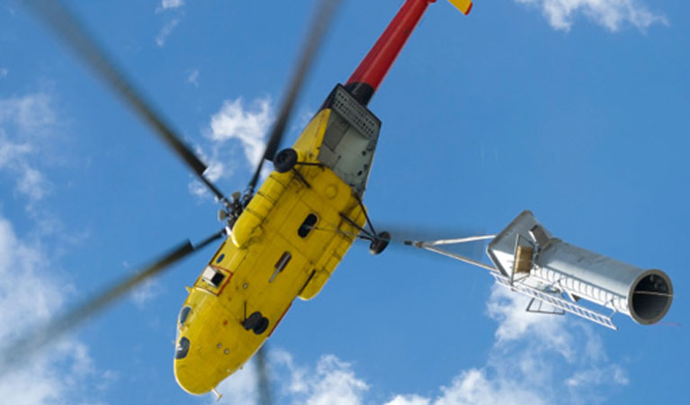 Cincinnati Heavy Lift Helicopters - Cincinnati Helicopter Lift Solutions