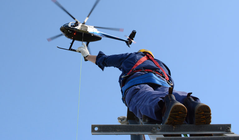 Modesto California Helicopter Lift Services
