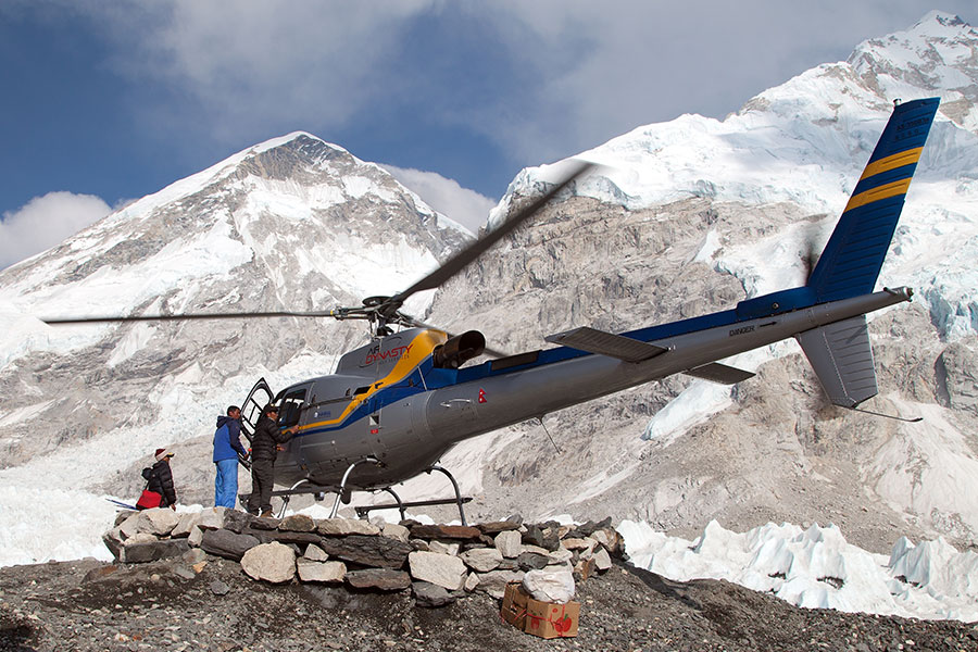 Can You Fly a Helicopter to the Top of Mount Everest?