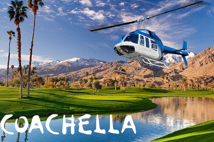 Helicopter Charter from LA to Coachella Valley