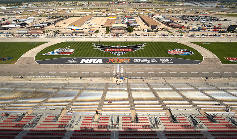 Helicopter Charter to Texas Motor Speedway