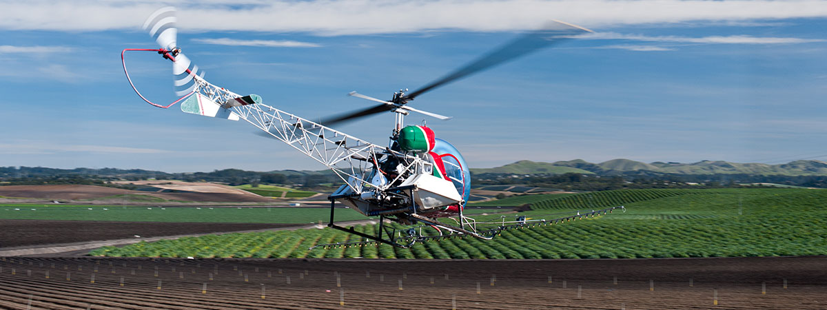 Aerial Application in Vermont - Vermont Agricultural Helicopters