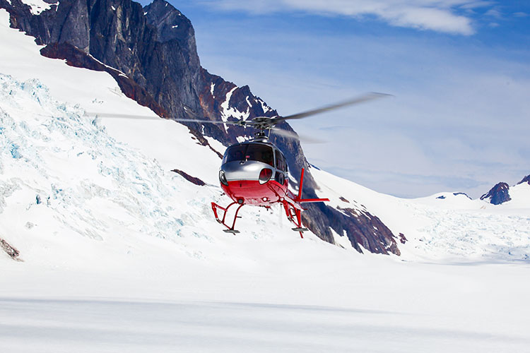 Alaskan Mining Operations by Helicopter