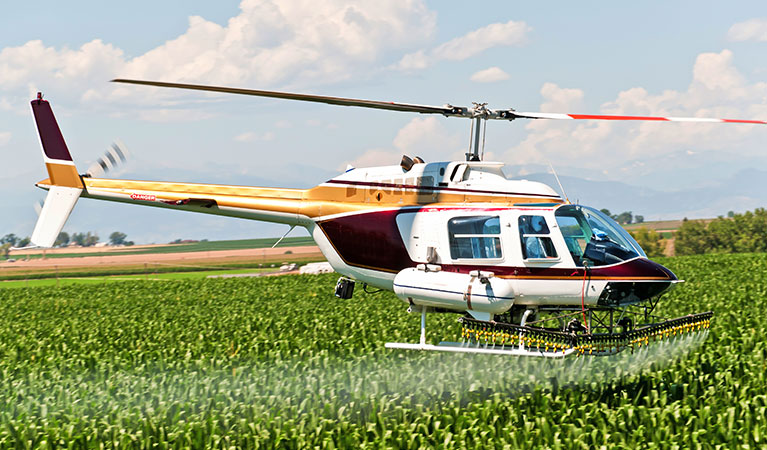 Crop Dusting: Fungicides, Fertilizer, Watering and Seed Spray - Aerial Application in Maryland