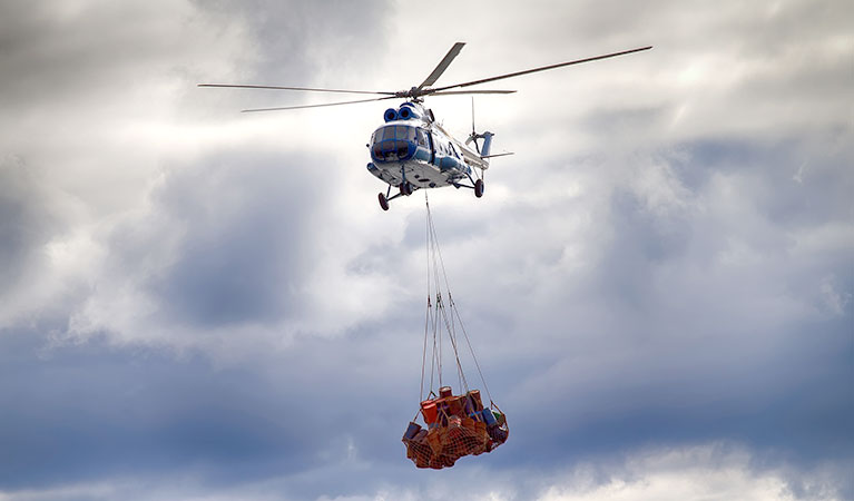 Helicopter Mining Support