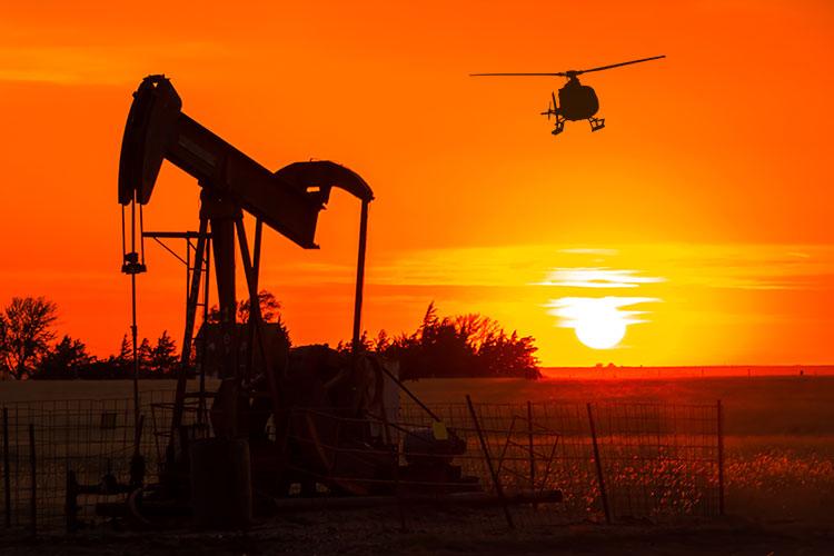 Helicopter Pipeline Surveys in Kansas