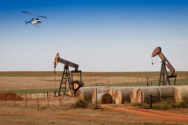 Helicopter Pipeline Inspections in Oklahoma