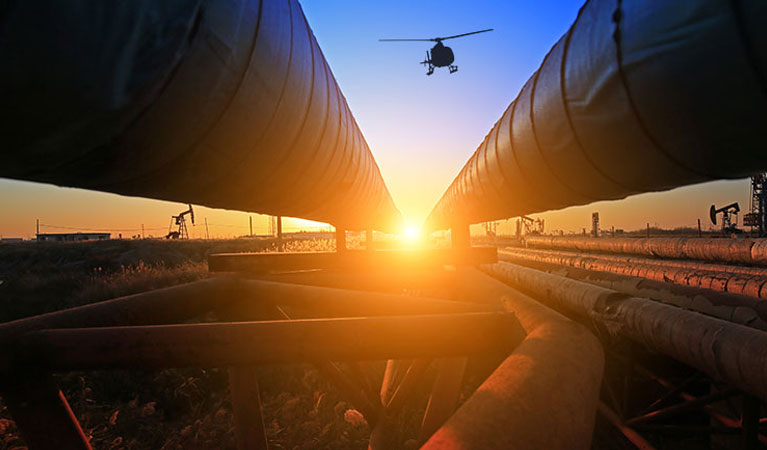 Pipeline Surveys & Inspections - Oakland Helicopter Services
