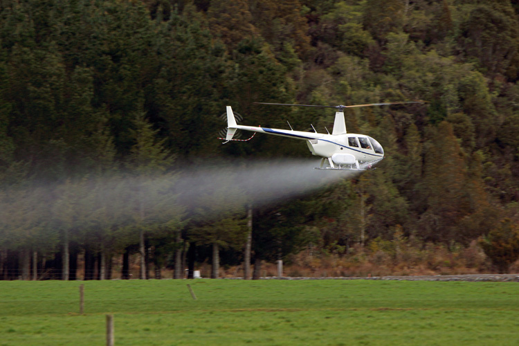The Role of Helicopters in Aerial Applications