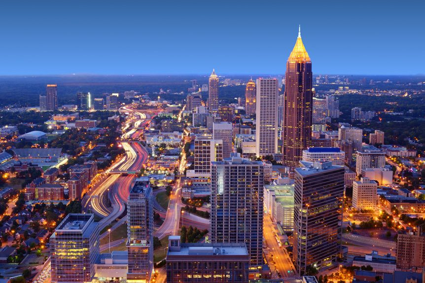 Aerial Video Production for Atlanta's Film Industry