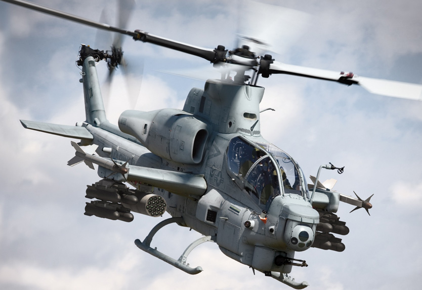 AH-1Z Viper Attack Helicopters