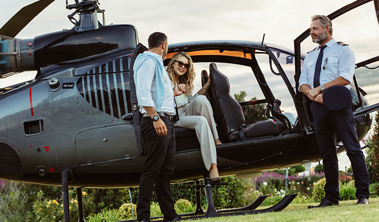 Executive Charters - Oakland Helicopter Services
