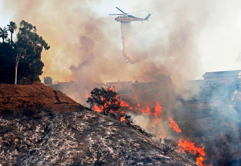 Helicopters Have Become Vital in Us Firefighting Operations