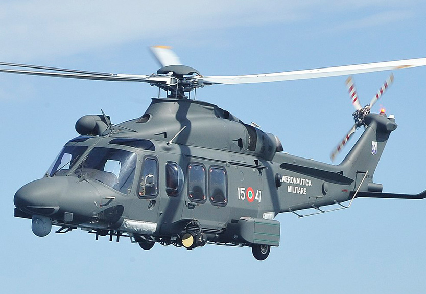 Leonardo Teams Up with Italian Manufacturer in Helicopter Technology