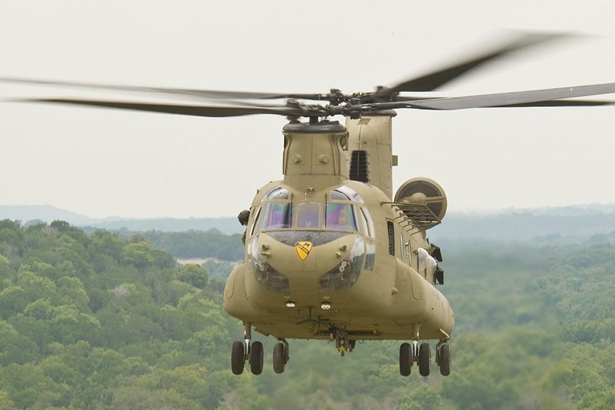 Military May Cut Funding on the CH-47F Chinook