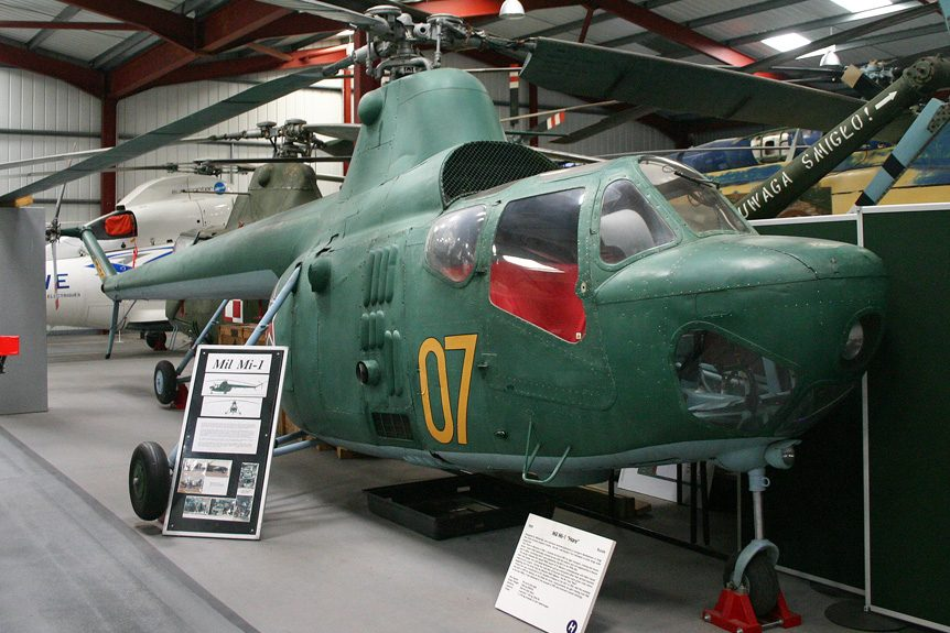 The Helicopter Museum in England's Rich History