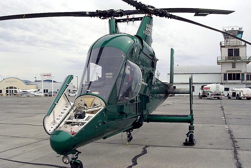The Kaman K MAX ® Power Lift Helicopter Does More With Less