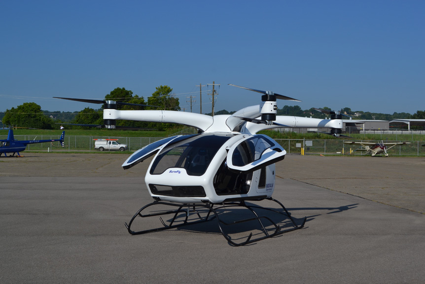 Workhorse Introduces A Cutting - Edge Personal Helicopter / VTOL Aircraft