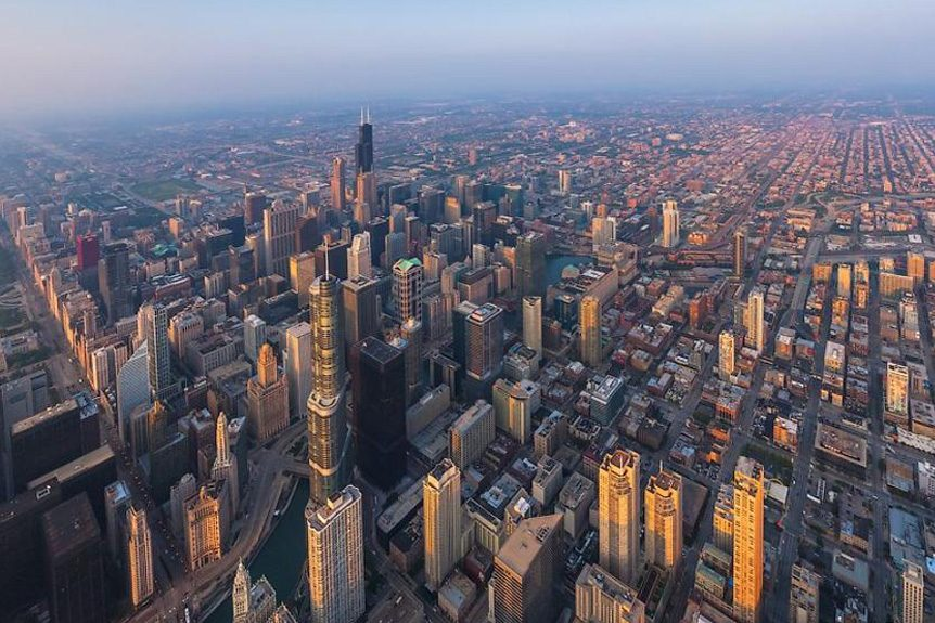 Helicopter-Facilitated Aerial Video Production Solutions in Chicago
