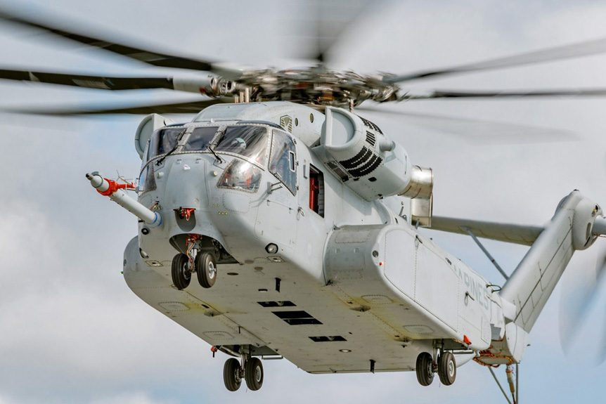 Sikorsky Works with TPG on Upcoming CH-53K King Stallion Helicopter