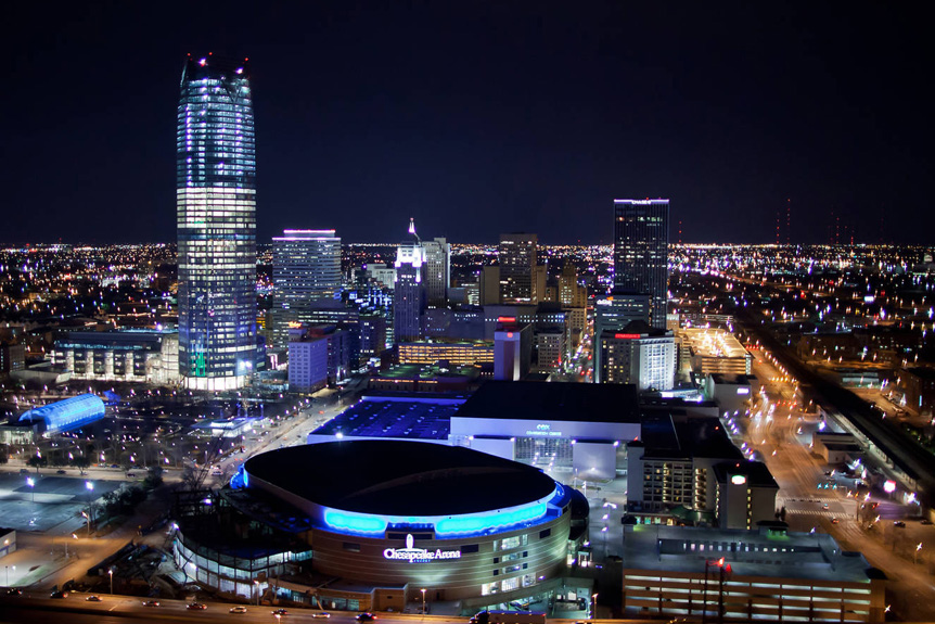 Aerial Video Production in Oklahoma City, Oklahoma